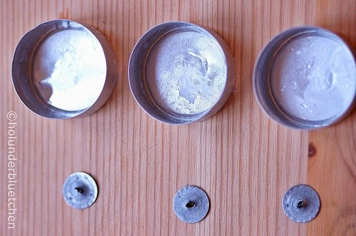 Holunderbluetchen Teelichthülsen Upcycling 4
