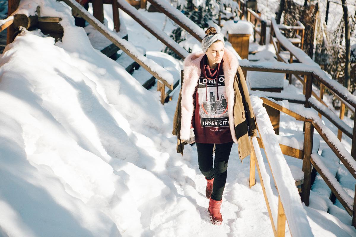 как выглядеть стильно зимой