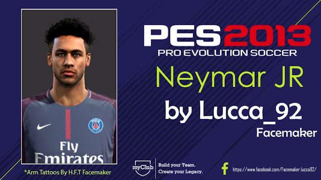 Neymar Jr New Face PES 2013