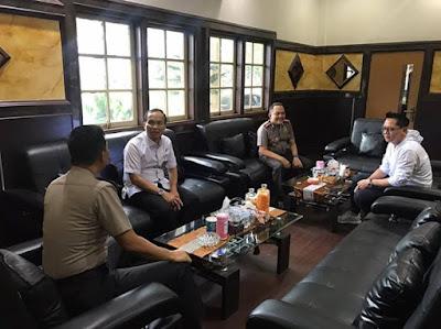 Kapolresta Jambi Sambut Kunjungan Ketua Pengadilan Negeri Jambi Ke Mapolresta