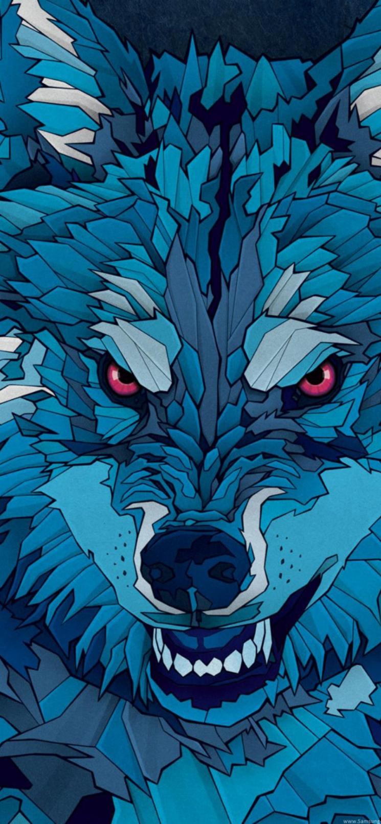 wolf wallpaper iphone