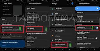 Mengaktifkan USB Debugging di Perangkat Android