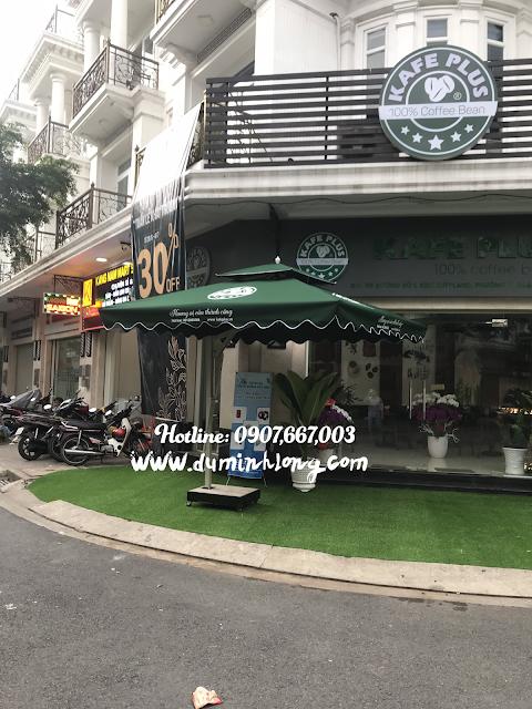 Những mẫu dù che nắng quán cafe được yêu thích nhất tại Nha Trang