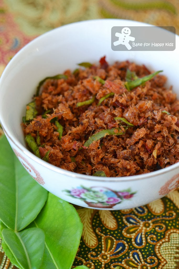 kaffir lime dried prawn sambal hei bee hiam