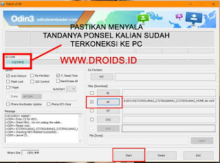 Cara Flashing Firmware Samsung Galaxy Note 4 Indonesia