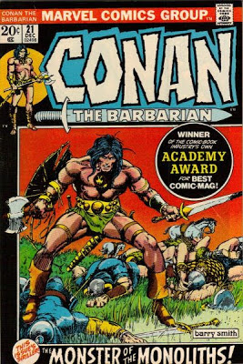 Conan the Barbarian #21, Barry Smith