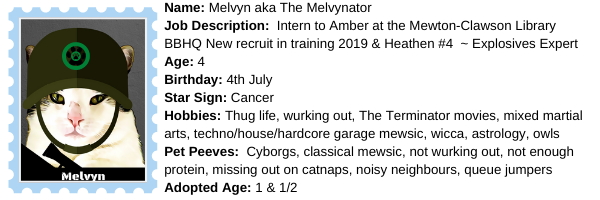 About Melvyn at BBHQ ©BionicBasil®