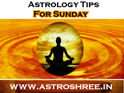astrologer tips for sunday