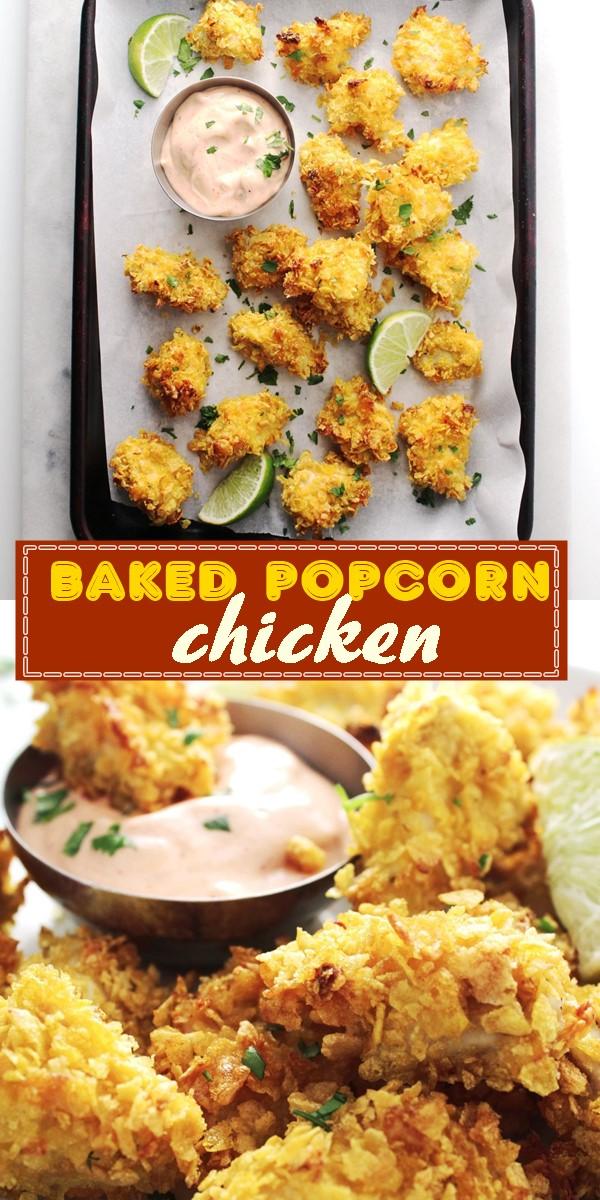 baked popcorn chicken #Dinnerrecipes#Weekendrecipes