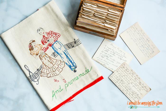 Vintage Tea Towels