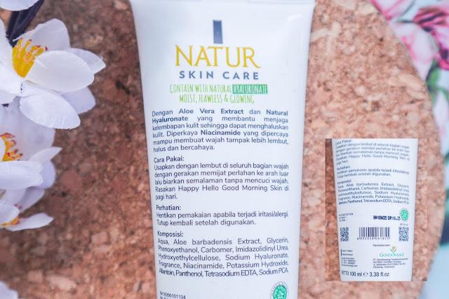 Review Sleeping Mask Lokal  Natur Aloe Vera