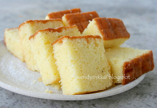 Golden Butter Cake Recipe