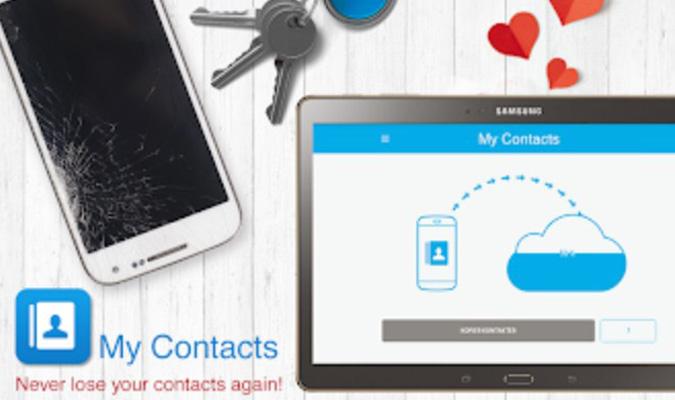 Aplikasi Backup Kontak Terbaik tuk Android - My Contacts