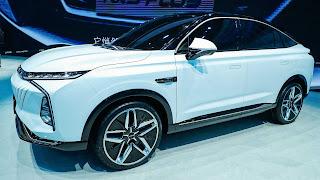 سيارة Jing الاختبارية من سايك موتورز