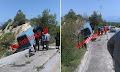 Κορινθία: Γλίτωσαν από θαύμα! Τροχαίο ατύχημα με έναν τραυματία (φώτο)