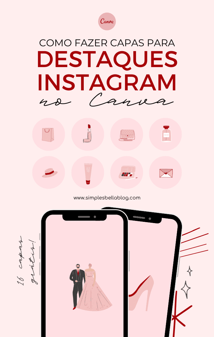 Como fazer capas para destaques do Instagram no Canva