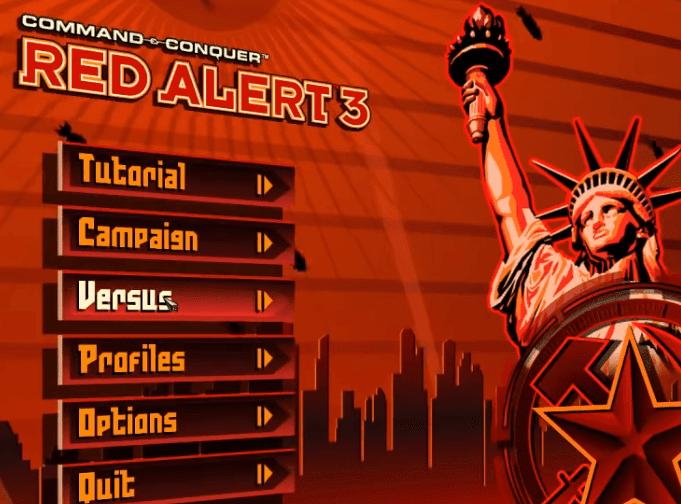 تحميل لعبة red alert 3 uprising