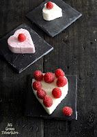 Crema de mascarpone con frambuesas {San Valentín}