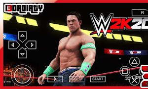 تحميل WWE 2K20 للاندرويد ppsspp بحجم صغير من ميديا فاير