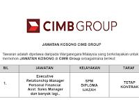 CIMB Group [ Kekosongan Terkini di Pelbagai Negeri ]