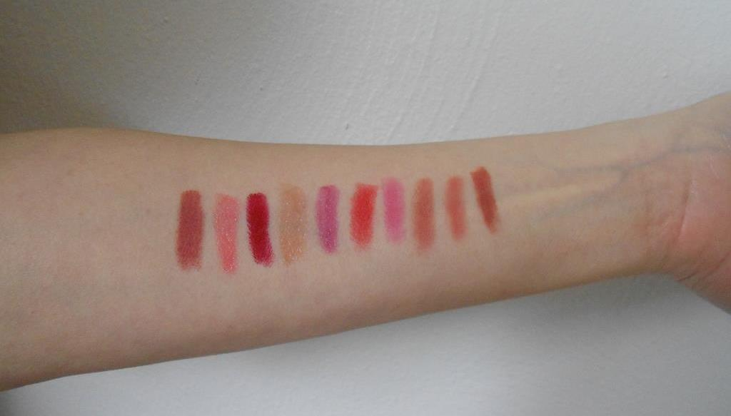 Glo Beauty Suede Matee and Creamy Lip Crayons Swatches