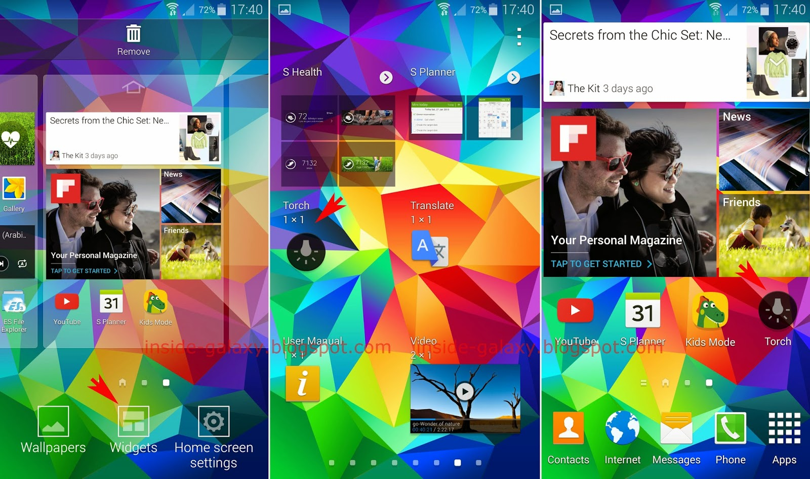 Samsung Galaxy S5: How to Use Torch Light in Android 4 4 2