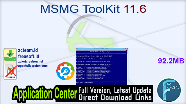 MSMG ToolKit 11.6 _ZcTeam.id