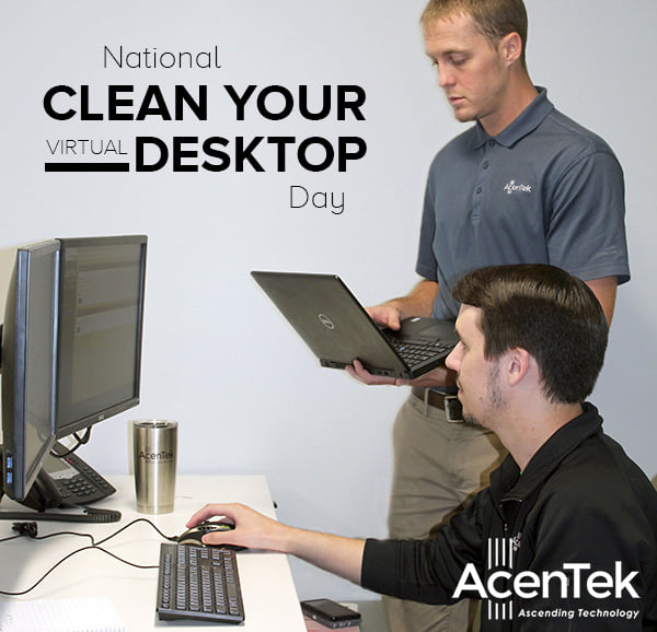 National Clean Your Virtual Desktop Wishes Awesome Picture