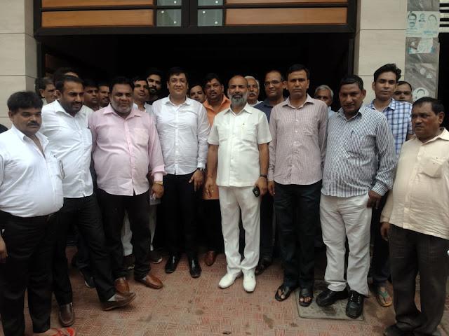 Narayani Mata Seva Samiti and Sarvodaya Hospital conducted free health check camps in Baselva Colony