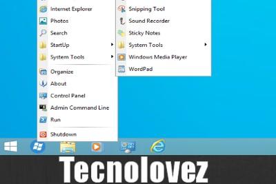 Come avere il menu di Windows XP su Windows 10 con Spencer