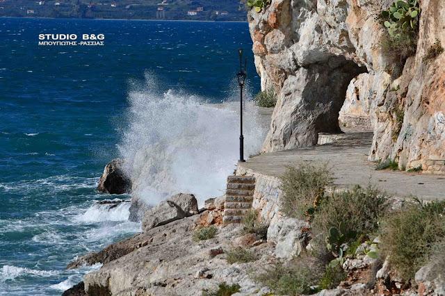 Λιμεναρχείο Ναυπλίου: Νοτιάδες 8 Μποφόρ στο Νοτιοδυτικό Αιγαίο