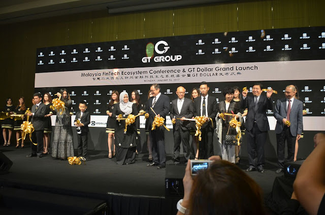 the Malaysia FinTech Ecosystem Conference and GT Dollar Grand Launch.