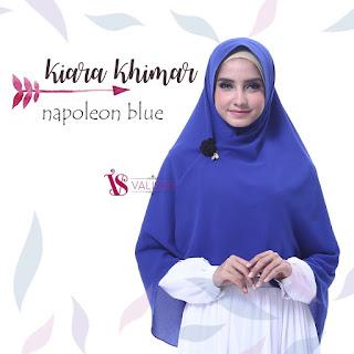 Khimar Valisha Kiara Napoleon Blue