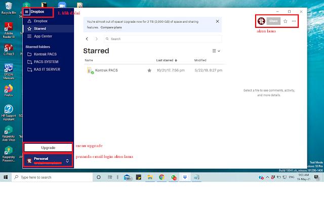 Cara Download, Install dan Logout dari Dropbox Desktop di Windows 10