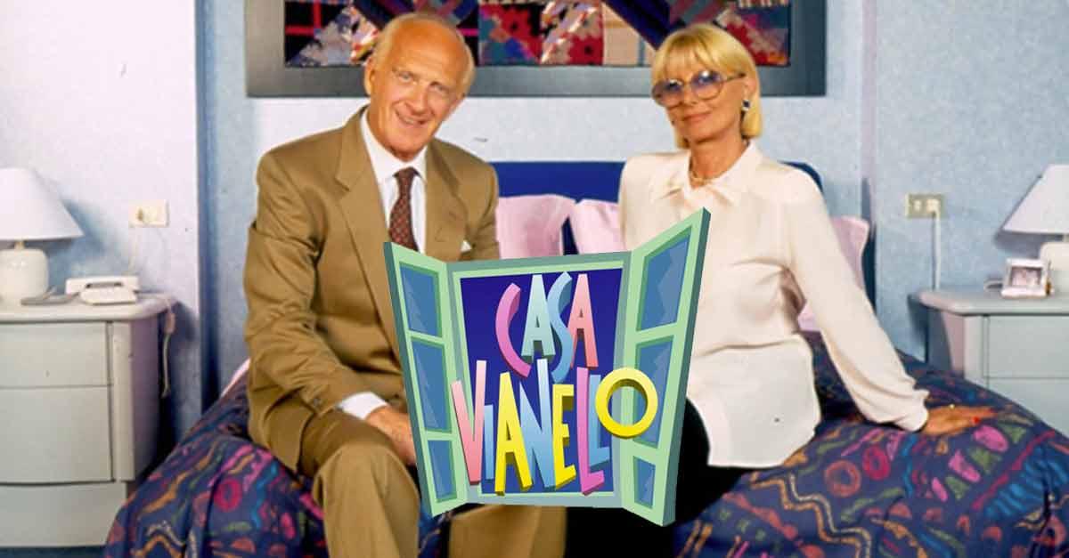 Raimondo Vianello e Sandra Mondaini sul set di ''Casa Vianello''