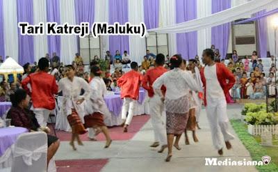 Tari Katreji (Maluku)