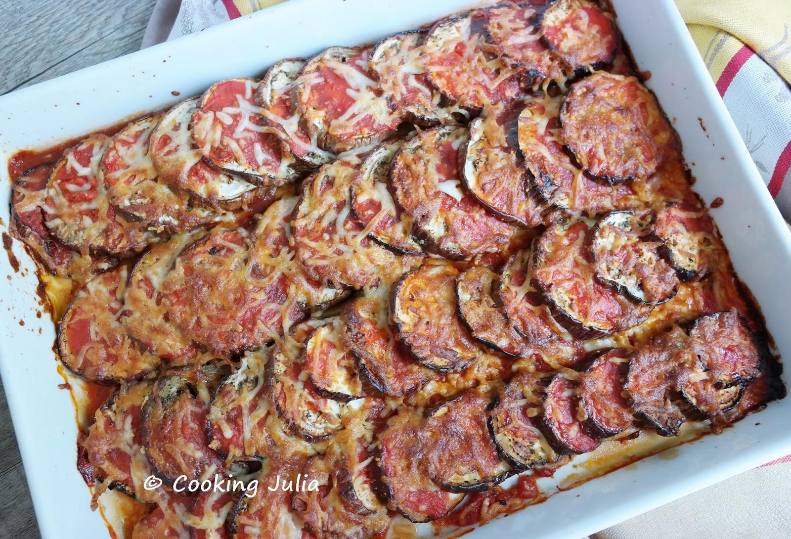 Cooking julia aubergines gratin es la tomate - Cuisiner des tomates sechees ...