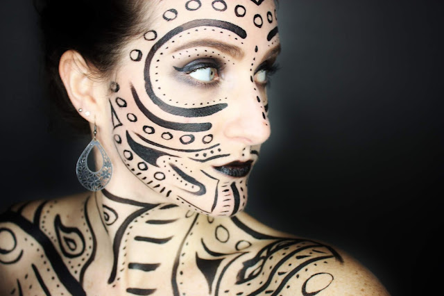 maquillage-tribal