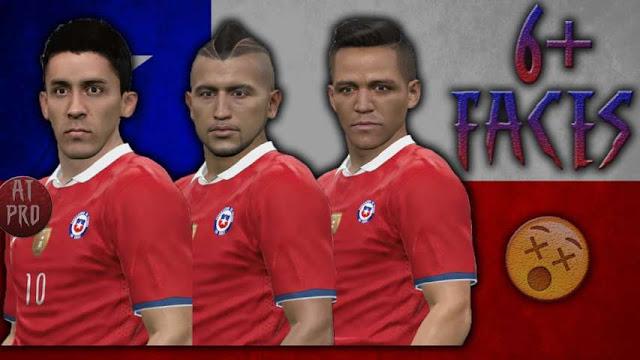 PES 2016 Chile Facepack Copa America Centenario