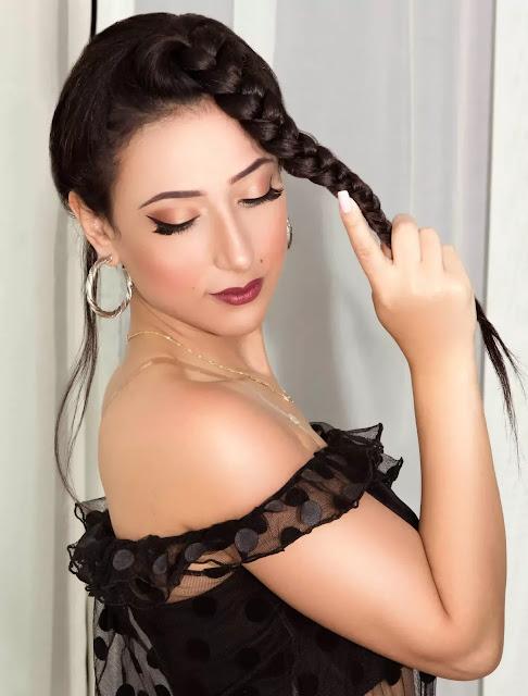 سارة حمدي تستعد لتصوير آخر أغنية أنا بعترف فيديو كليب