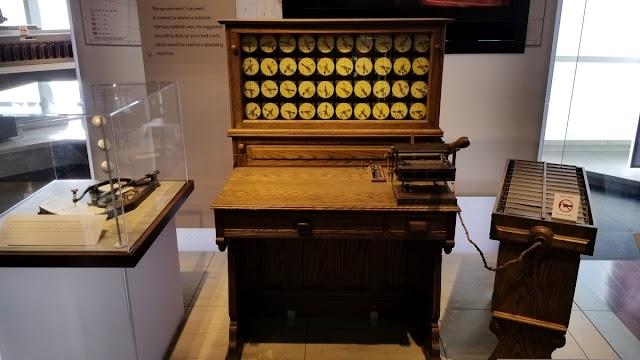Tabulating Machine 1884 | Mesin Tabulasi Herman Hollerith (IBM)