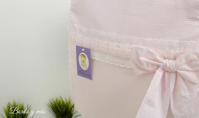 bolsa Stokke Xplory rosa blanco