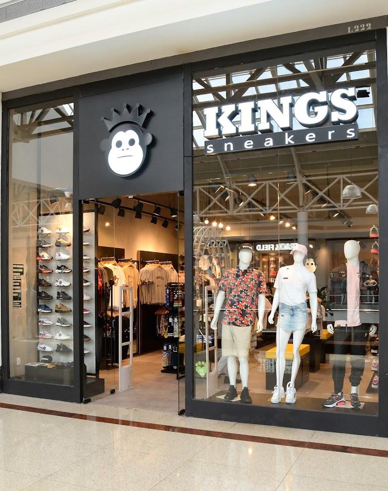 Primeira loja Kings Sneakers de Belo Horizonte é inaugurada no Minas Shopping