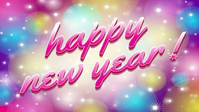 happy new year images 3d with quartes
