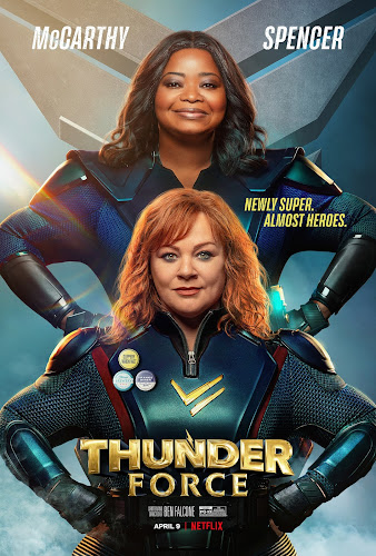 Thunder Force (Web-DL 1080p Dual Latino / Ingles) (2021)