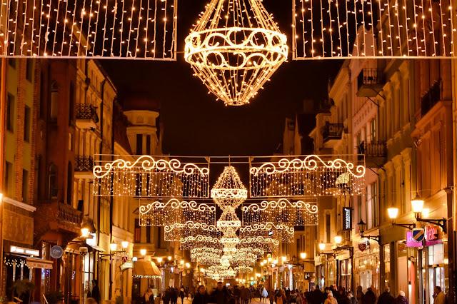 Świąteczna Iluminacja Torunia