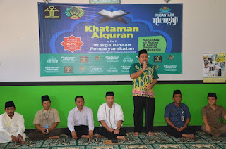 Khataman Al'Quran Di Lapas Blora Dipimpin Wabup Arief Rohman 1-Humasblorakab