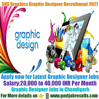 SKG Graphics Graphic Designer Recruitment 2021-22