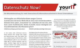 Mitarbeiter- und Mandantenzeitung Datenschutz Now! von yourIT