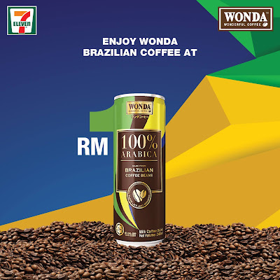 Wonda Coffee Malaysia RM1 Promo Price 7 Eleven
